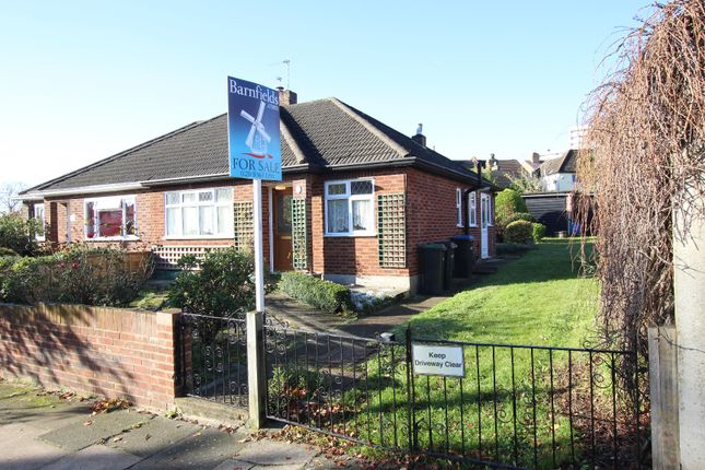 Thumbnail Semi-detached bungalow for sale in Gloucester Road, Enfield