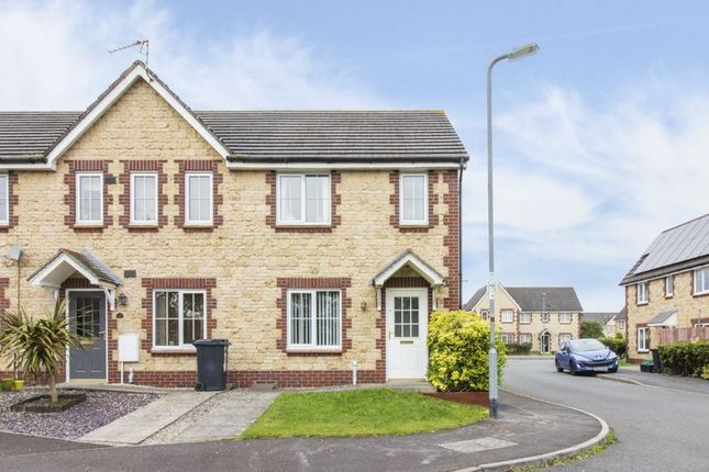 Thumbnail End terrace house for sale in Old Castle Close, St. Brides Wentlooge, Newport