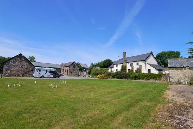 Thumbnail Farmhouse for sale in Dulverton