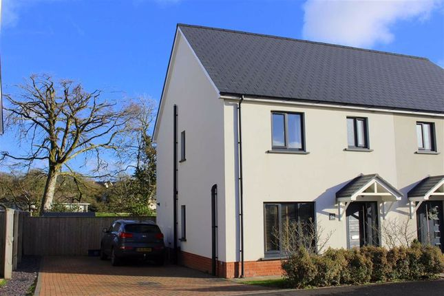 3 bed semi-detached house for sale in Park Gardens, Begelly, Kilgetty SA68