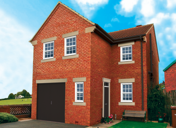 Thumbnail Detached house for sale in The Eskdale, Leafield Gardens, Lindale Lane, Wrenthorpe, Wakefield, West Yorkshire