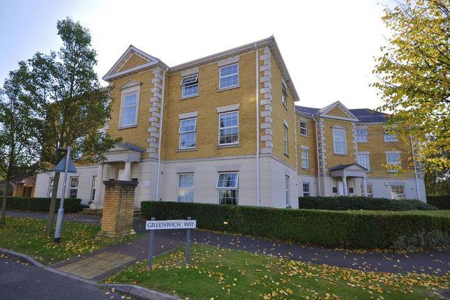 Thumbnail Flat to rent in Queen Elizabeth Court, Greenwich Way, Waltham Abbey