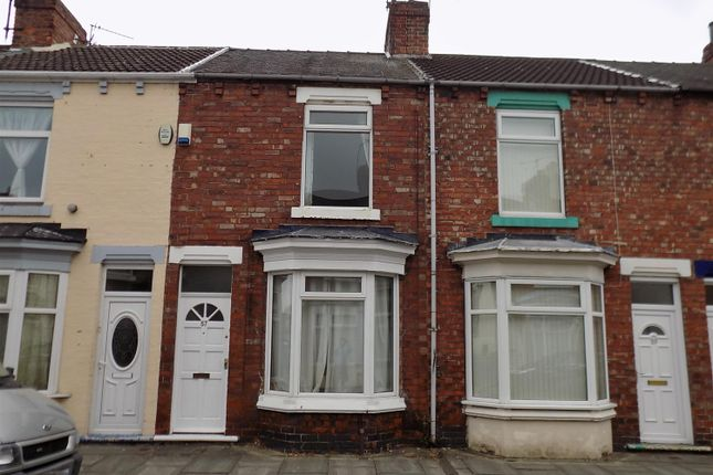 Thumbnail Terraced house for sale in Aire Street, Middlesbrough
