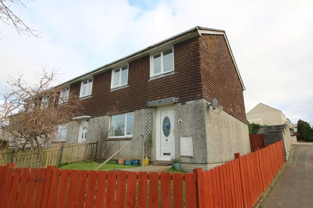 Thumbnail End terrace house to rent in Summerfields, St. Stephens, Saltash