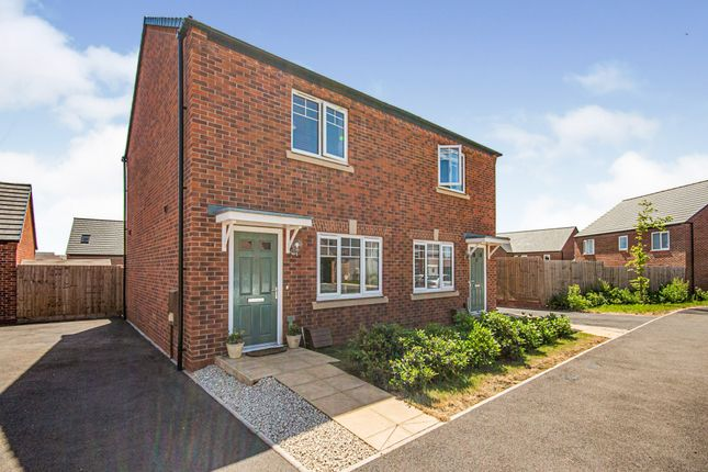 Thumbnail Semi-detached house for sale in Hopkins Road, Warwick