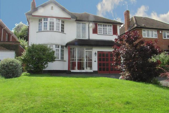 Thumbnail Detached house to rent in Maney Hill Road, Sutton Coldfield