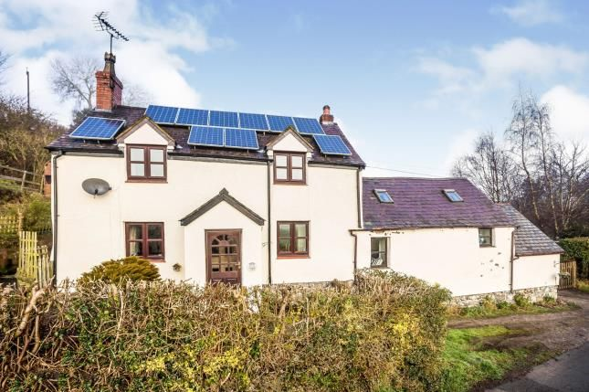 Thumbnail Detached house for sale in Derwen, Corwen, Denbighshire, North Wales
