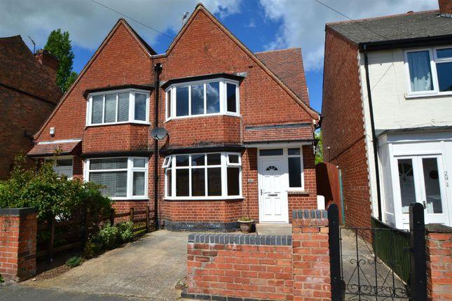 Thumbnail Semi-detached house for sale in Dockholm Road, Long Eaton, Nottingham