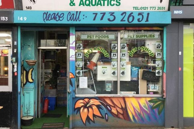 Thumbnail Retail premises for sale in 149 Bordesley Green, Birmingham