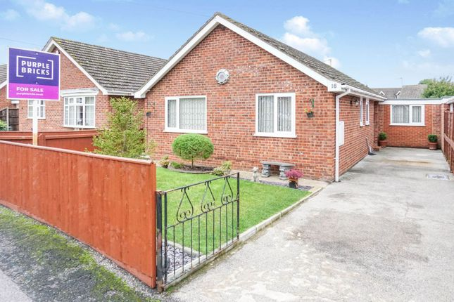 Thumbnail Detached bungalow for sale in Albany Road, Louth