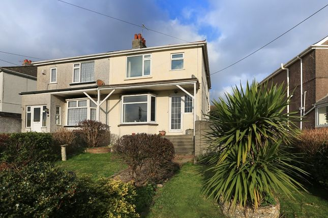 3 bed semi-detached house for sale in Dean Park Road, Plymstock, Plymouth