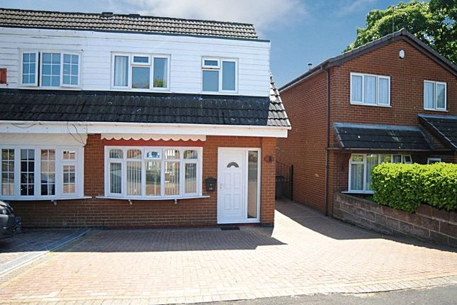 Thumbnail Semi-detached house for sale in Firbank Place, Parkhall, Stoke-On-Trent