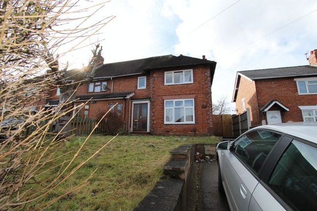 Thumbnail Semi-detached house to rent in West Bromwich Road, Walsall