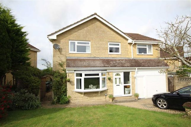 Thumbnail Detached house for sale in Thrushel Close, Greenmeadow, Swindon