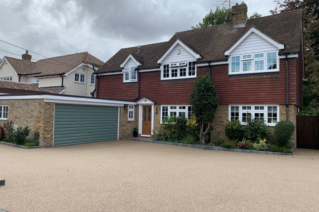 Thumbnail 4 bed detached house for sale in Vicarage Lane, Great Baddow, Chelmsford