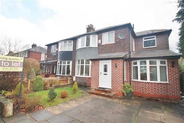 Thumbnail Semi-detached house to rent in Oakwood Avenue, Walkden, Manchester