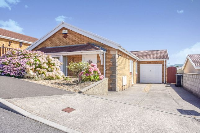 Thumbnail Detached bungalow for sale in Stratton Way, Neath Abbey