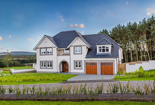 "Thumbnail Detached house for sale in ""Armstrong"" at Crathes, Banchory"