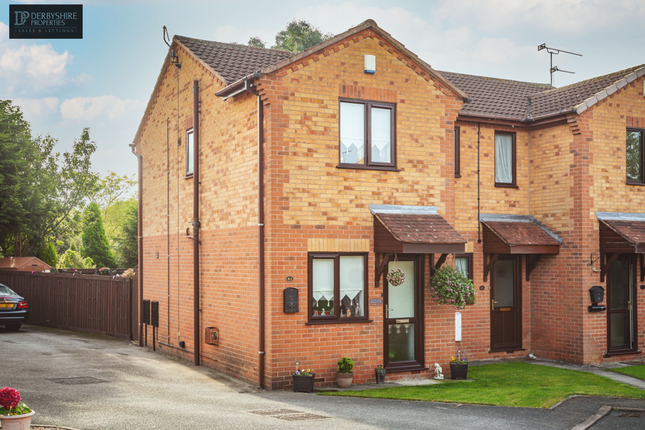 2 bed semi-detached house for sale in Ashton Close, Swanwick, Alfreton DE55