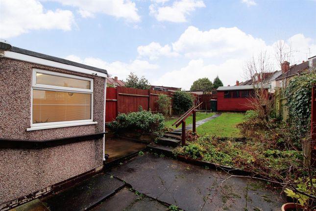 Garden of Max Road, Coundon, Coventry CV6