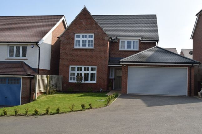 Thumbnail Detached house for sale in Bryony Road, Hamilton, Leicester