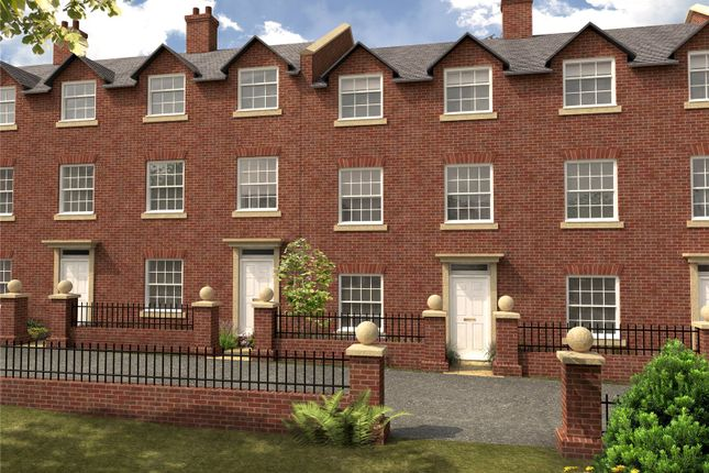 Thumbnail Terraced house for sale in Burlingham Square, Rosebank, Worcester