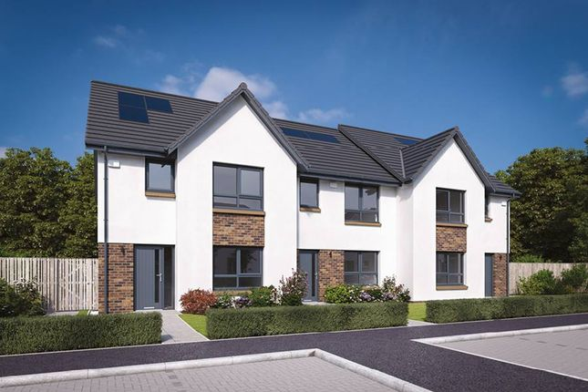 "Thumbnail Terraced house for sale in ""The Allan"" at Flures Crescent, Erskine"