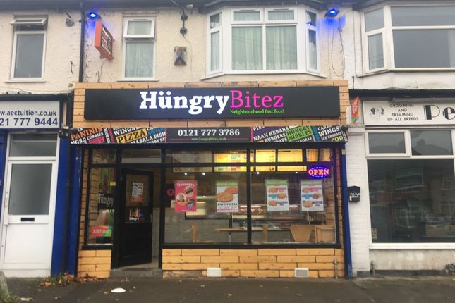 Thumbnail Restaurant/cafe for sale in York Road, Birmingham