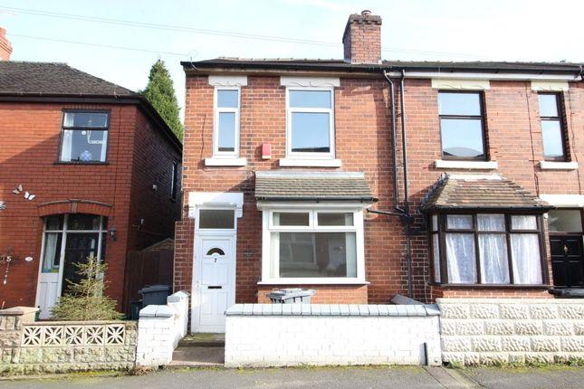 Thumbnail Terraced house for sale in Pilsbury Street, Wolstanton, Newcastle