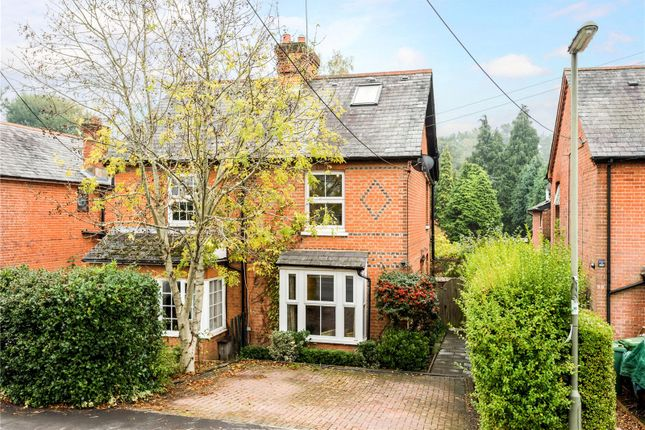 Thumbnail Semi-detached house for sale in Chertsey Road, Windlesham, Surrey