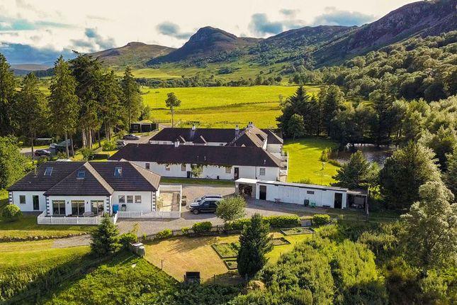 Thumbnail Leisure/hospitality for sale in Highland Holiday Cottages, Crubenbeg, Newtonmore