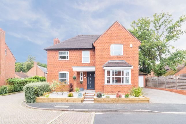 Thumbnail Detached house for sale in Meadow Pleck Lane, Dickens Heath, Shirley, Solihull
