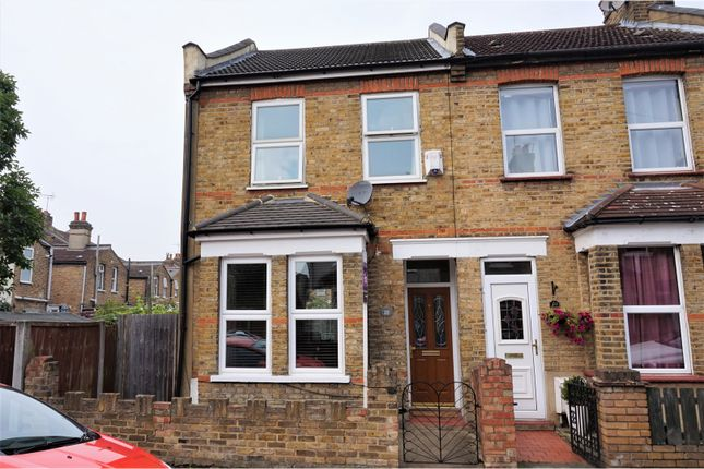 Thumbnail End terrace house for sale in Walton Street, Enfield