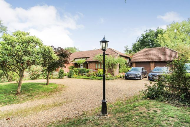 Thumbnail Detached bungalow for sale in Old Acres Lane, Charvil, Reading