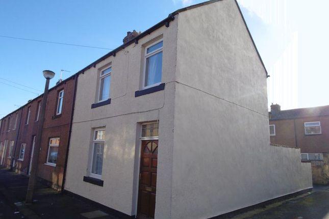Thumbnail End terrace house for sale in Scott Street, Amble, Morpeth