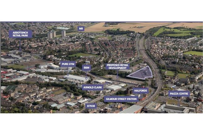 Thumbnail Land for sale in Land At, Wallneuk Road, Paisley, Scotland