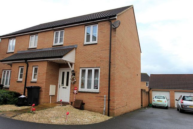Thumbnail Semi-detached house for sale in Orkney Close, Bridgwater, Somerset