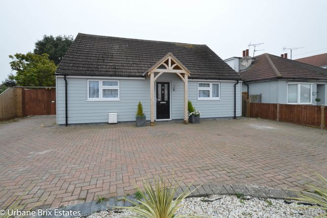 Thumbnail Detached bungalow for sale in Frinton Road Kirby Cross, Frinton-On-Sea