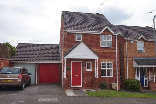 Thumbnail Link-detached house for sale in Appletree Lane, Redditch