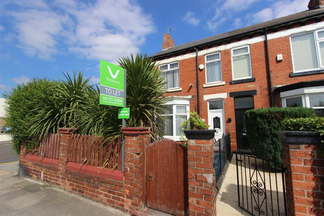 Thumbnail End terrace house to rent in North Road, Darlington