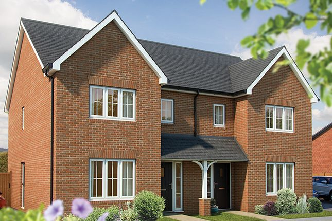"Thumbnail 3 bed semi-detached house for sale in ""The Cypress II"" at London Road, Norman Cross, Peterborough"