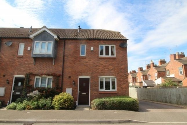 Thumbnail Town house to rent in Anson Close, Grantham