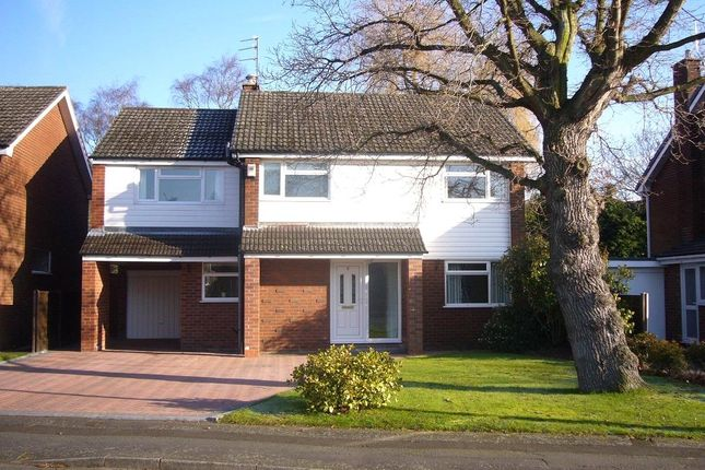 Thumbnail Detached house to rent in Valley Way, Knutsford, Cheshire