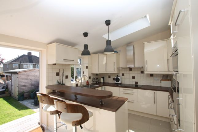 Thumbnail Semi-detached house for sale in Kingfisher Road, Upminster