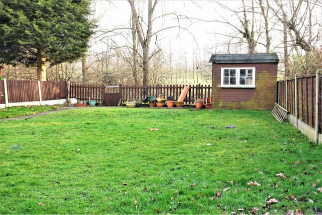 Rear Garden of Curlew Crescent, Basildon SS16
