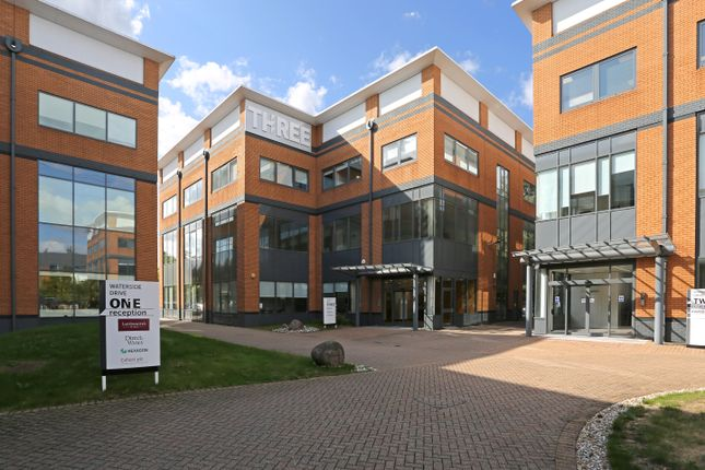 Thumbnail Office to let in Three Waterside Drive, Theale, Reading