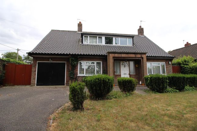 Thumbnail Detached bungalow to rent in Caistor Lane, Caistor St. Edmund, Norwich
