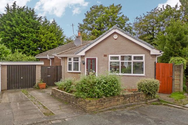 Thumbnail Detached bungalow for sale in Vicars Hall Gardens, Worsley, Manchester