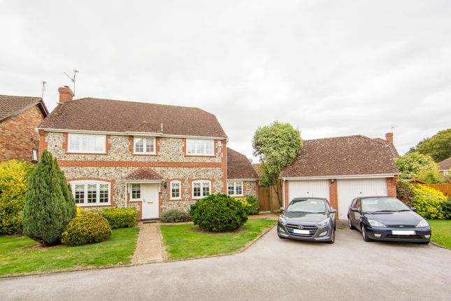 Thumbnail Detached house for sale in Quince Tree Way, Hook