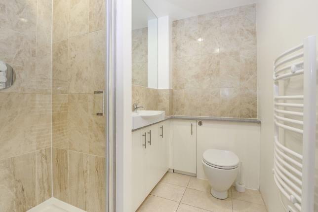 Shower Room of Kingtson Upon Thames, Surrey, England KT2